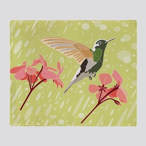Hummingbird, Throw Blanket