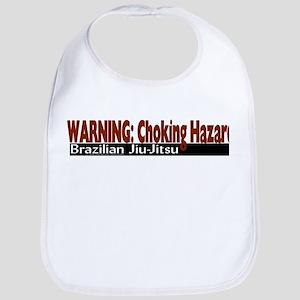 Warning: Choking hazard Bib