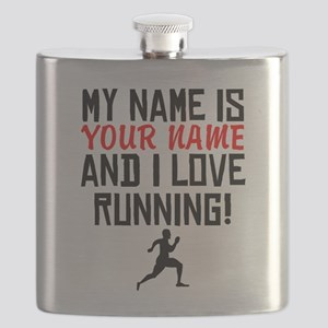 My Name Is And I Love Running Flask
