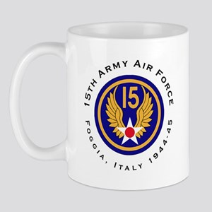 15Th Army Air Force Aerial Gunner Mug