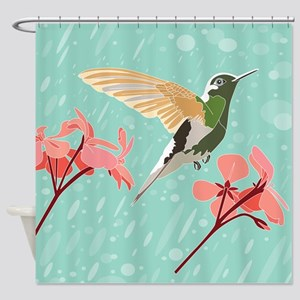Hummingbird #2, Shower Curtain