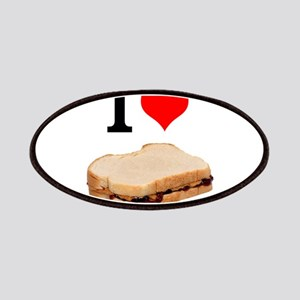 I Love Peanut butter and Jelly Sandwich Patches