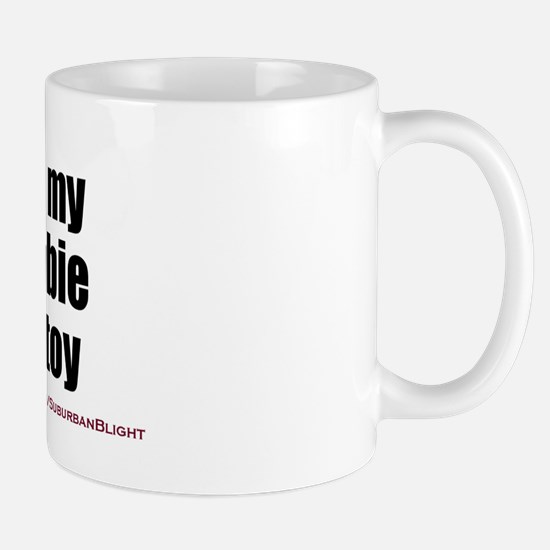 """""""Love My Zombie Boytoy"""" Mug"""