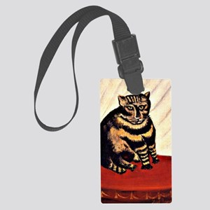 Rousseau - The Tiger Cat Large Luggage Tag
