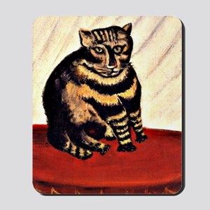 Rousseau - The Tiger Cat Mousepad