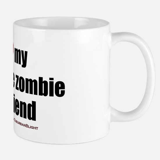 """Love My Inflatable Zombie GF"" Mug"