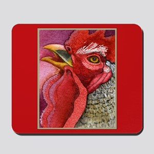COLORFUL CHICKENS Mousepad