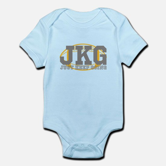 Just Keep Going Football Body Suit