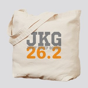 Just Keep Going 26.2 Tote Bag