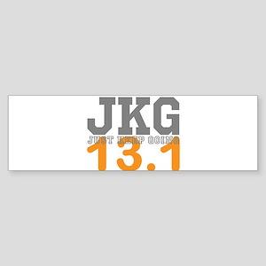Just Keep Going 13.1 Bumper Sticker