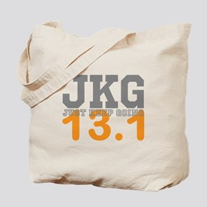 Just Keep Going 13.1 Tote Bag