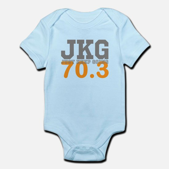 Just Keep Going 70.3 Body Suit