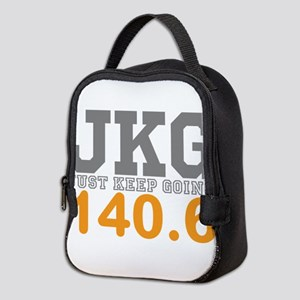 Just Keep Going 140.6 Neoprene Lunch Bag