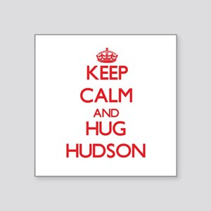 Keep calm and Hug Hudson Sticker