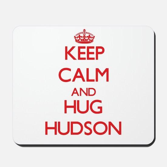 Keep calm and Hug Hudson Mousepad