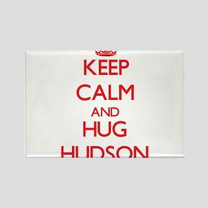 Keep calm and Hug Hudson Magnets