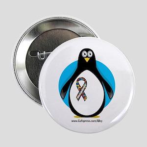 Autism Penguin Button