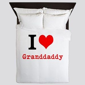 I Love Granddaddy Queen Duvet