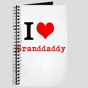 I Love Granddaddy Journal