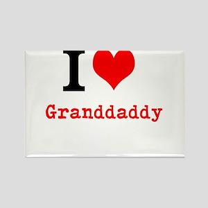 I Love Granddaddy Magnets