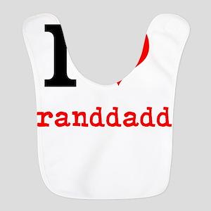 I Love Granddaddy Bib