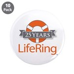 Lifering 3.5&Amp;Quot; Button (10 Pack)