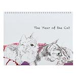Cats Haiku Wall Calendar