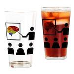 Neuro Educate Drinking Glass
