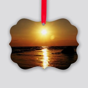 Sunset Picture Ornament