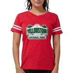 Yellowstone National Park Green Sign T-Shirt
