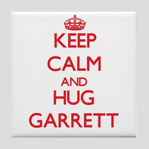Keep calm and Hug Garrett Tile Coaster