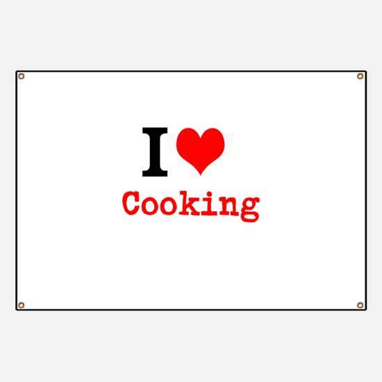 I Love Cooking Banner
