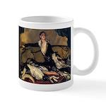 Deco Lady Borzoi Mug