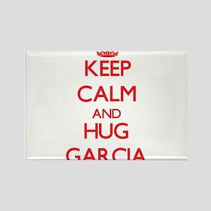 Keep calm and Hug Garcia Magnets