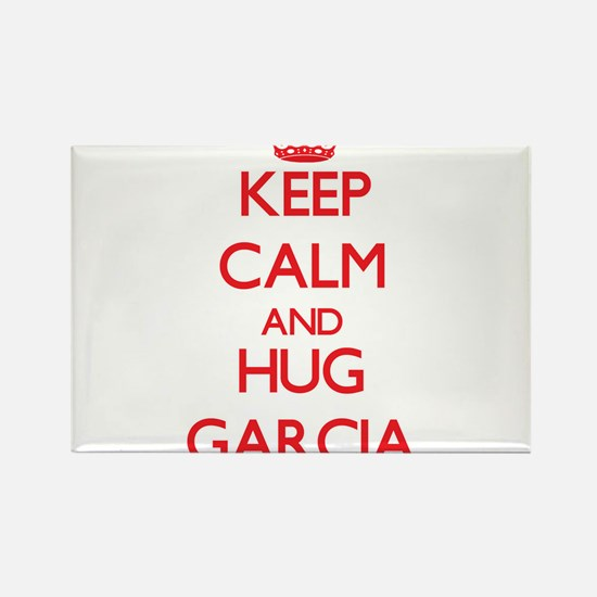 Keep calm and Hug Garcia Magnets