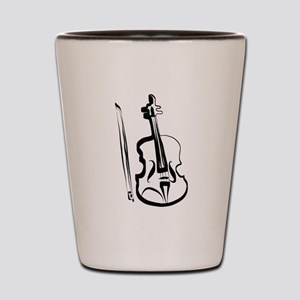 Viola and Bow by LH Shot Glass