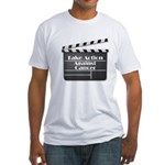 Take Action Against Cancer Fitted T-Shirt
