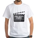 Take Action Against Cancer White T-Shirt