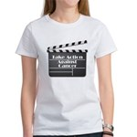 Take Action Against Cancer Women's T-Shirt