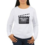 Take Action Against Cancer Women's Long Sleeve T-S