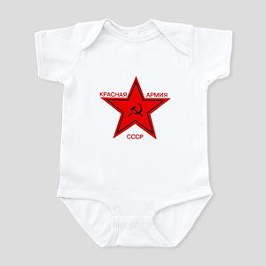 Red Army 3 Infant Bodysuit