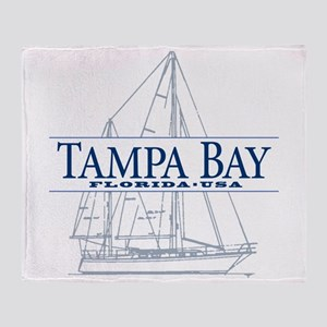 Tampa Bay - Throw Blanket