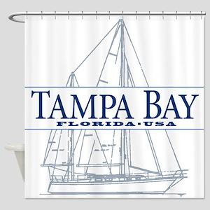 Tampa Bay - Shower Curtain