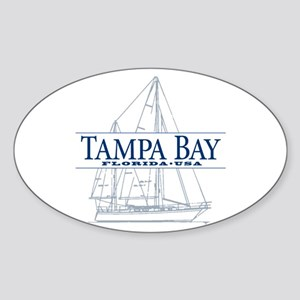 Tampa Bay - Sticker (Oval)
