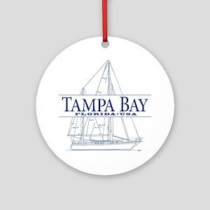 Tampa Bay - Ornament (Round)