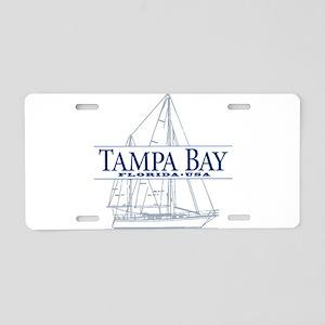 Tampa Bay - Aluminum License Plate