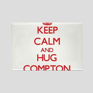 Keep calm and Hug Compton Magnets