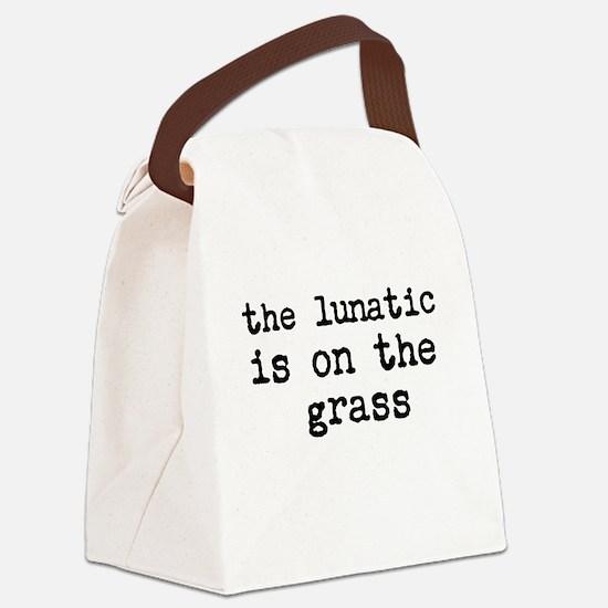 Pink Floyd's Brain Damage Canvas Lunch Bag