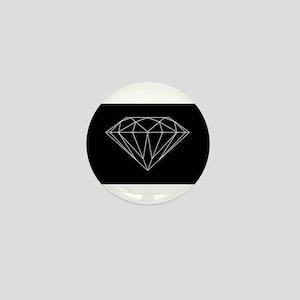 Diamond black Mini Button