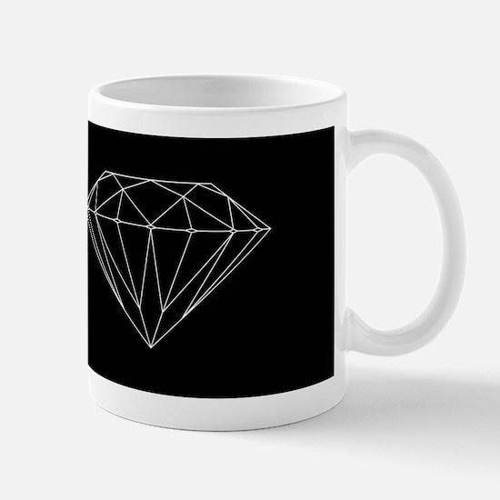 Diamond black Mugs